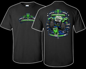2015 Monster Truck Throwdown Tour T-Shirt *Black*