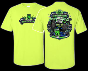 2015 Monster Truck Throwdown Tour T-Shirt *Yellow*