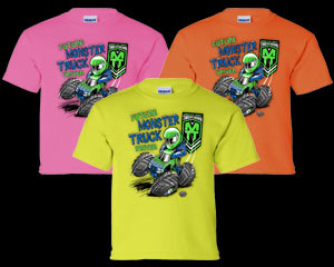 2k14 Monster Truck Throwdown Tour T-Shirt